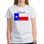 Texas Texan State Flag Women's T-Shirt