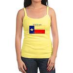 Texas Texan State Flag Jr. Spaghetti Tank
