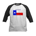 Texas Texan State Flag Kids Baseball Jersey