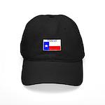 Texas Texan State Flag Black Cap