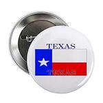Texas Texan State Flag Button
