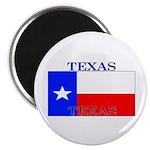 Texas Texan State Flag Magnet