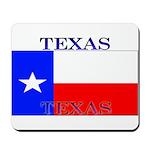 Texas Texan State Flag Mousepad