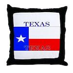 Texas Texan State Flag Throw Pillow