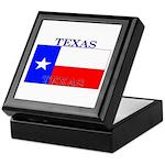 Texas Texan State Flag Keepsake Box