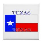 Texas Texan State Flag Tile Coaster