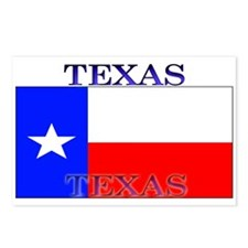 Texas Texan State Flag Postcards (Package of 8)