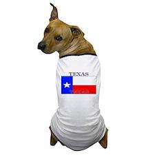 Texas Texan State Flag Dog T-Shirt