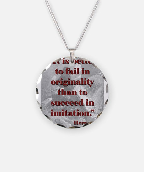 It Is Better To Fail - Melville Necklace