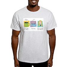 A Fine Whine Ash Grey T-Shirt