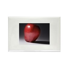 Close-up of an apple,s Rectangle Magnet (100 pack)