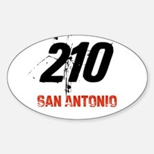 210 Oval Decal