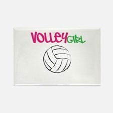 Volleygirl Rectangle Magnet