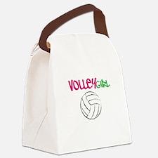 Volleygirl Canvas Lunch Bag