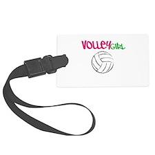 Volleygirl Luggage Tag