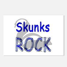 Skunks Rock Postcards (Package of 8)