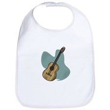 Acoustic Guitar Design Bib