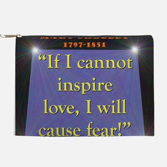 If I Cannot Inspire Love - Shelley Makeup Pouch