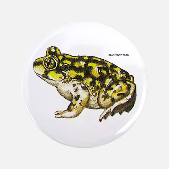 """Spadefoot Toad 3.5"""" Button"""