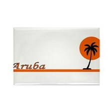 Cool Carribean Rectangle Magnet
