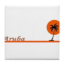 Unique Carribean Tile Coaster