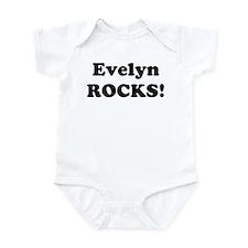 Evelyn Rocks! Infant Bodysuit