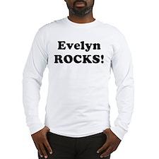 Evelyn Rocks! Long Sleeve T-Shirt
