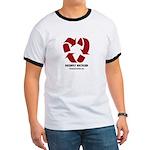 Recycled Heart Mens Ringer T