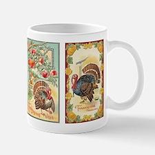Vintage Thanksgiving Turkeys 2 Mug