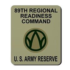 89th Regional Readiness Command Mousepad