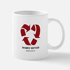 Recycled Heart Mug