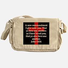 John 13-34 Messenger Bag