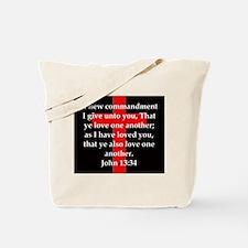 John 13-34 Tote Bag