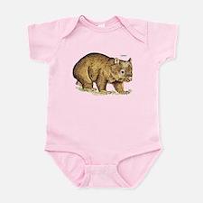 Wombat Animal Infant Bodysuit