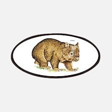 Wombat Animal Patches