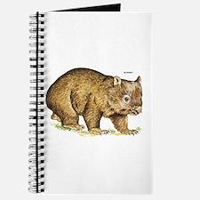 Wombat Animal Journal