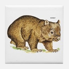Wombat Animal Tile Coaster