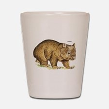 Wombat Animal Shot Glass