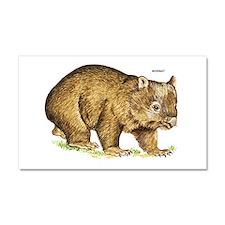 Wombat Animal Car Magnet 20 x 12
