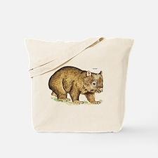 Wombat Animal Tote Bag