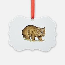 Wombat Animal Ornament