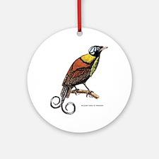 Wilson's Bird of Paradise Ornament (Round)