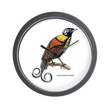 Wilson's Bird of Paradise Wall Clock
