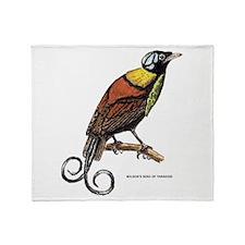 Wilson's Bird of Paradise Throw Blanket