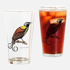 Wilson's Bird of Paradise Drinking Glass