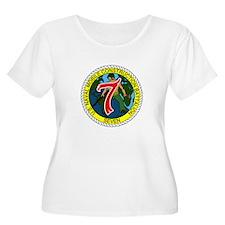 USNMCB 7 Plus Size T-Shirt