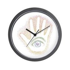 Rainbow Petro EyeHand Wall Clock
