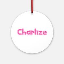 """Charlize"" Ornament (Round)"