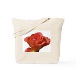 Coral Beauty Rose Tote Bag