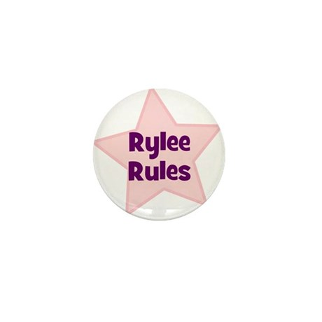 Rylee Rules Mini Button (10 pack)